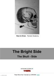 PDF Tutorial - How to Draw, Human Anatomy, The Bright Side, The Skull - Side
