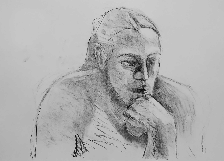A fantastic life drawing session – CHROMA